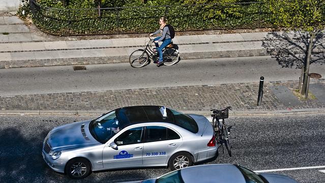 Taxi Bike Culture