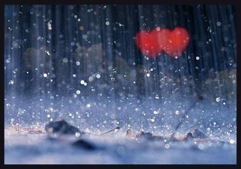 image of love in rain - photo #3