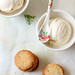 Rosemary Shortbreads & Goat Cheese Ice Cream