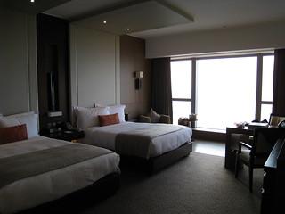 アルティラマカオホテル ウオーターフロントビュー・ルーム 風呂側から見る