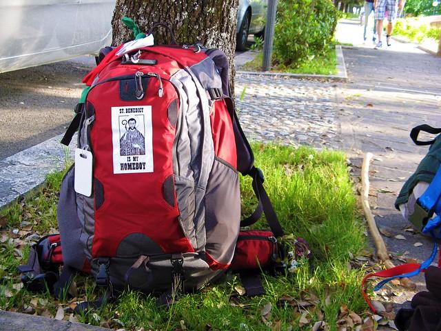 Backpack by flickr user mariya_umama_wethemba_monastery