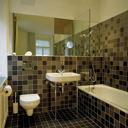 badgestaltung mit dusche und badewanne bauen und gestalten. Black Bedroom Furniture Sets. Home Design Ideas