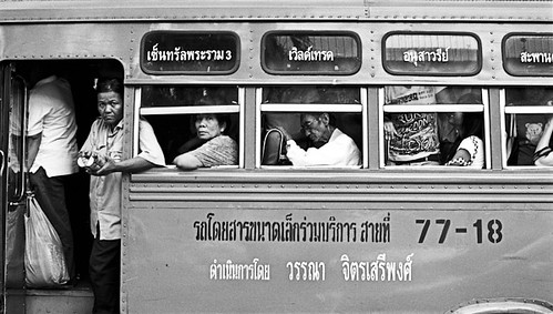 bus 77-18 - Bangkok, city of angels