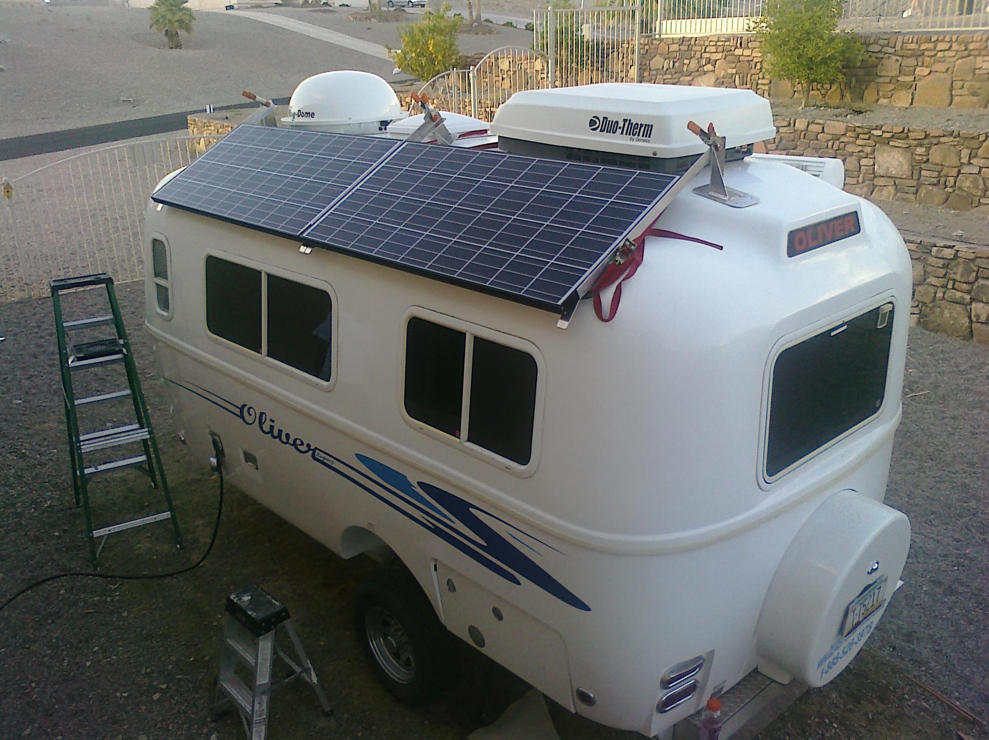 Solar Travel Trailer Untra Lightweight