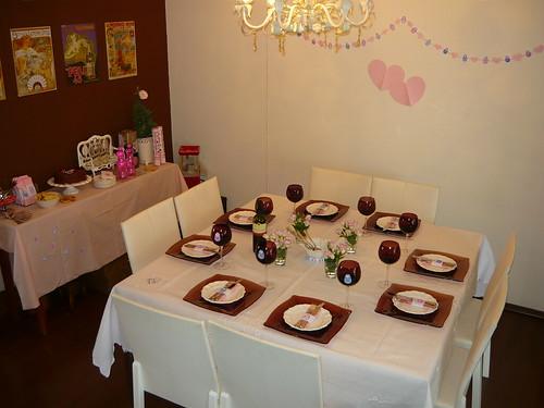 4601442452 d478dd4164 Decoração para almoço do dia das mães