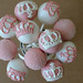 Pink and White Princess Cake Pops