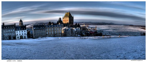 quebec city panoramic