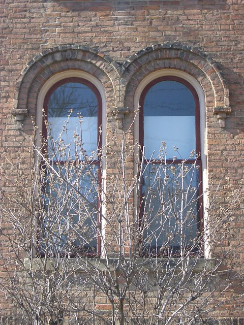 Abner Johnson House c 1873, East Village, Downtown Flint Michigan!