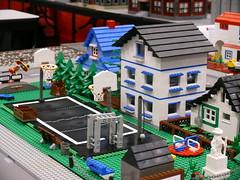 Houses and Basketball Court 1