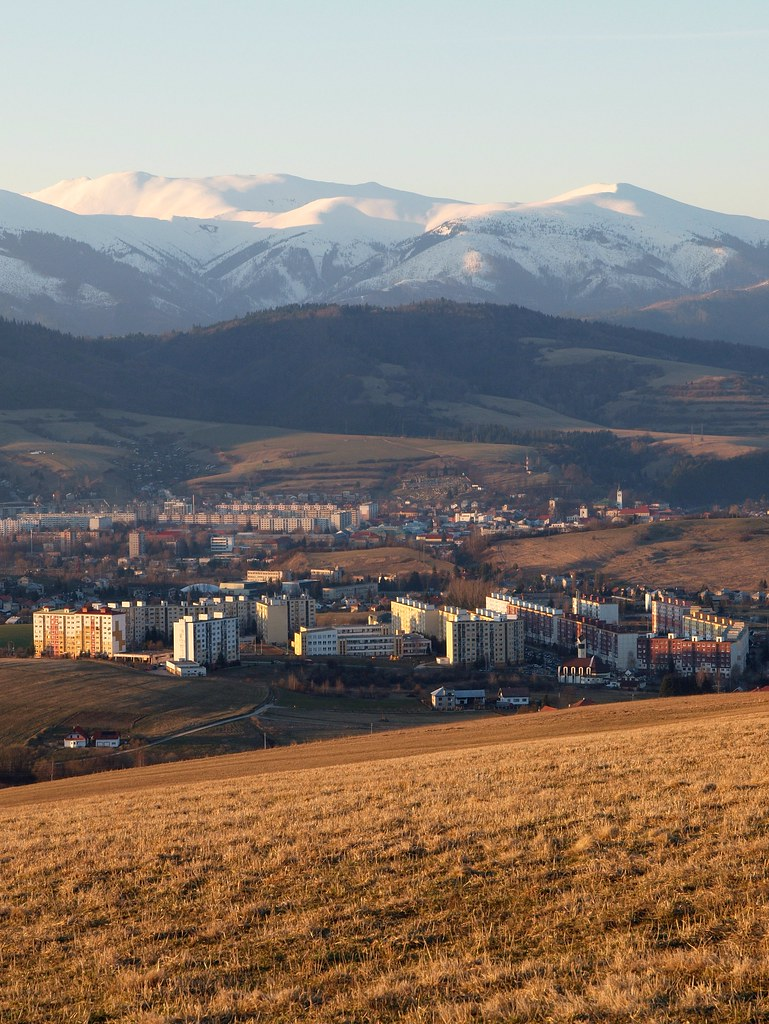 Brezno, my hometown...