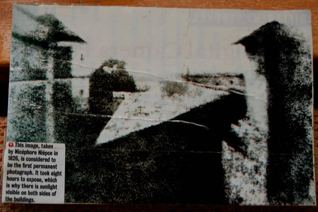 World First Photograph ,Year :1826 | Flickr - Photo Sharing! First Photograph 1826