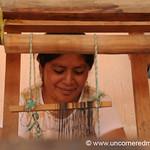 Woman Weaving on Loom - Paraje Xecaje, Guatemala