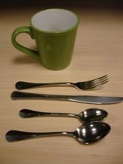 spoon(1.0), cup(1.0), tableware(1.0), cutlery(1.0),