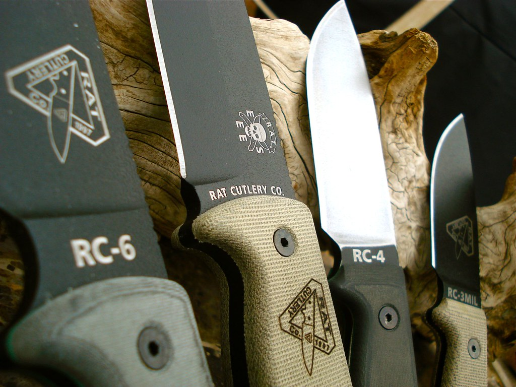 Rat Knives Rc-5 Rat Cutlery Rc-3 Rc-4 Rc-5
