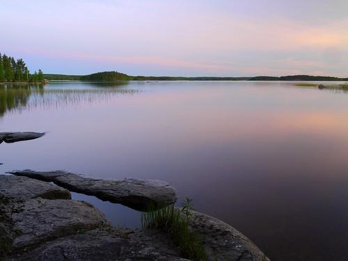 lake night landscape view iitti urajärvi panasoniclumixg1 1445kitlens lyöttilä