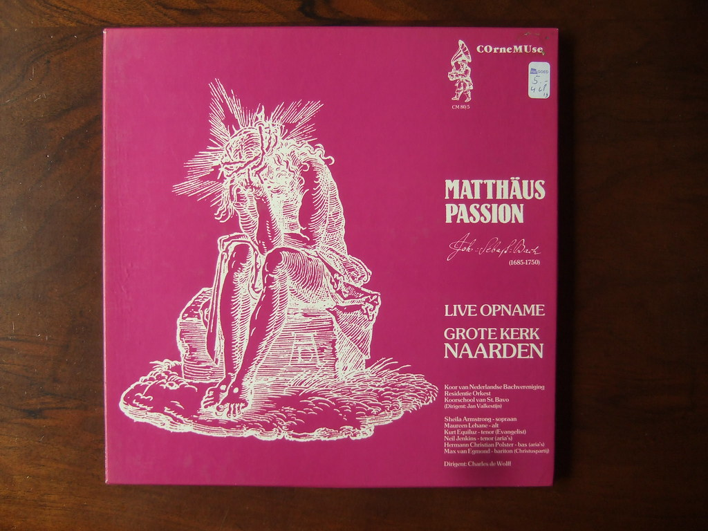Bach Matthaus Passion Sheila Armstrong Maureen Lehane