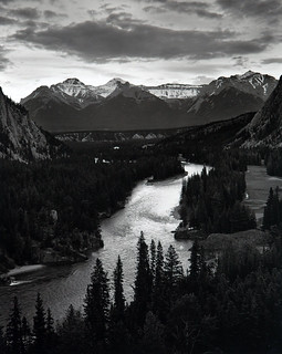The Bow River, © 2000 Tom Zsolt
