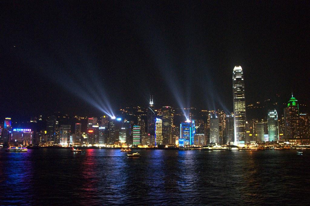 Hong Kong Laser Show