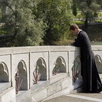 Priest in Lourdes