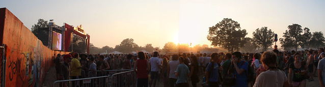 Strokes @ Which Stage @ sunset, Sunday