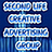 the Second Life Creative Advertising group icon
