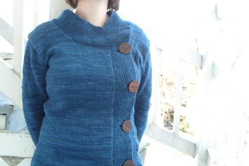 suéter profundo by gradschoolknitter