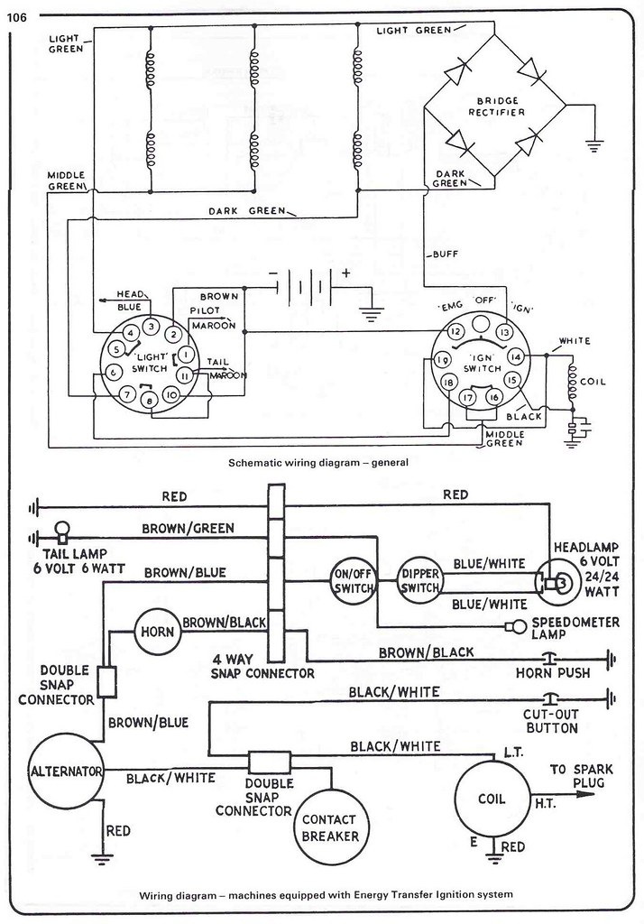 Triumph Tiger Wiring Diagram