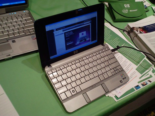 HP Mini 1000 netbook