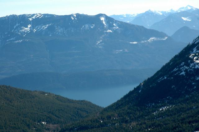 harrison lake from hemlock valley ski resort flickr