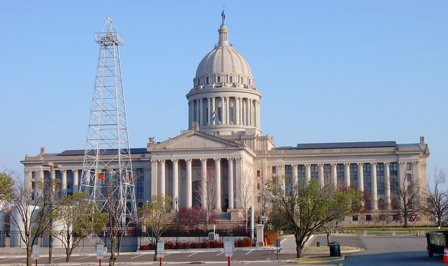 Oklahoma State Capitol Building Photos
