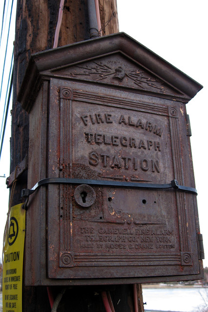 Gamewell Fire Alarm Telegraph Company http://www.flickr.com/photos/ebolton/3370895785/