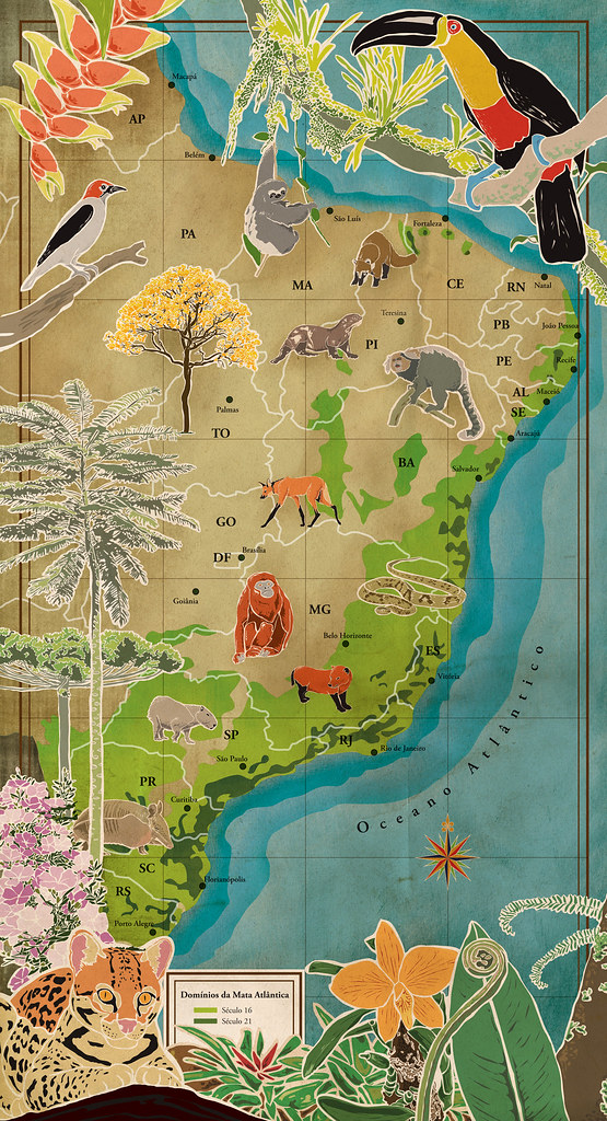Mapa Mata Atlântica
