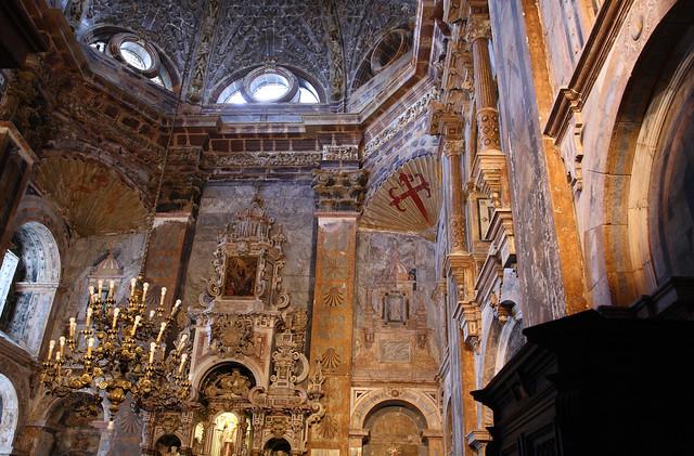 Santiago de compostela cathedral interior santiago de - Interior santiago de compostela ...
