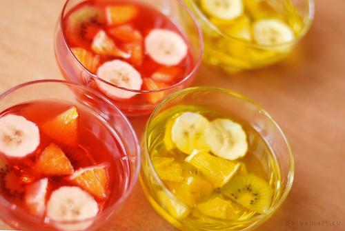 фруктовое желе из желатина рецепт с фото