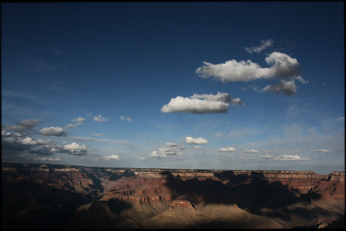 The Grand Canyon with Clouds by Juli Kearns (Idyllopus)