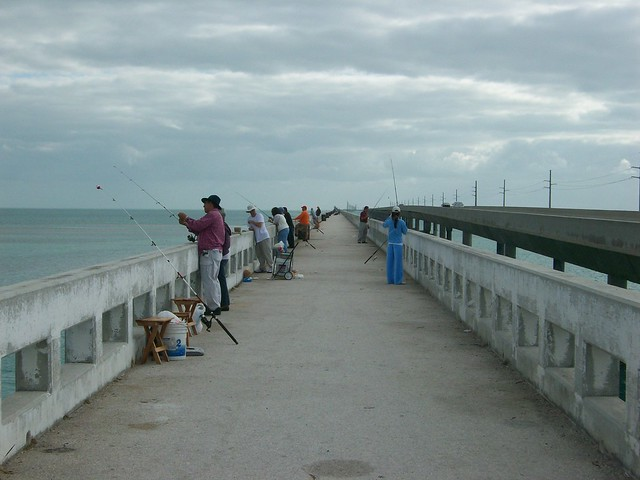 Seven mile bridge florida keys flickr photo sharing for Florida keys bridge fishing