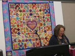 Liza & new quilts