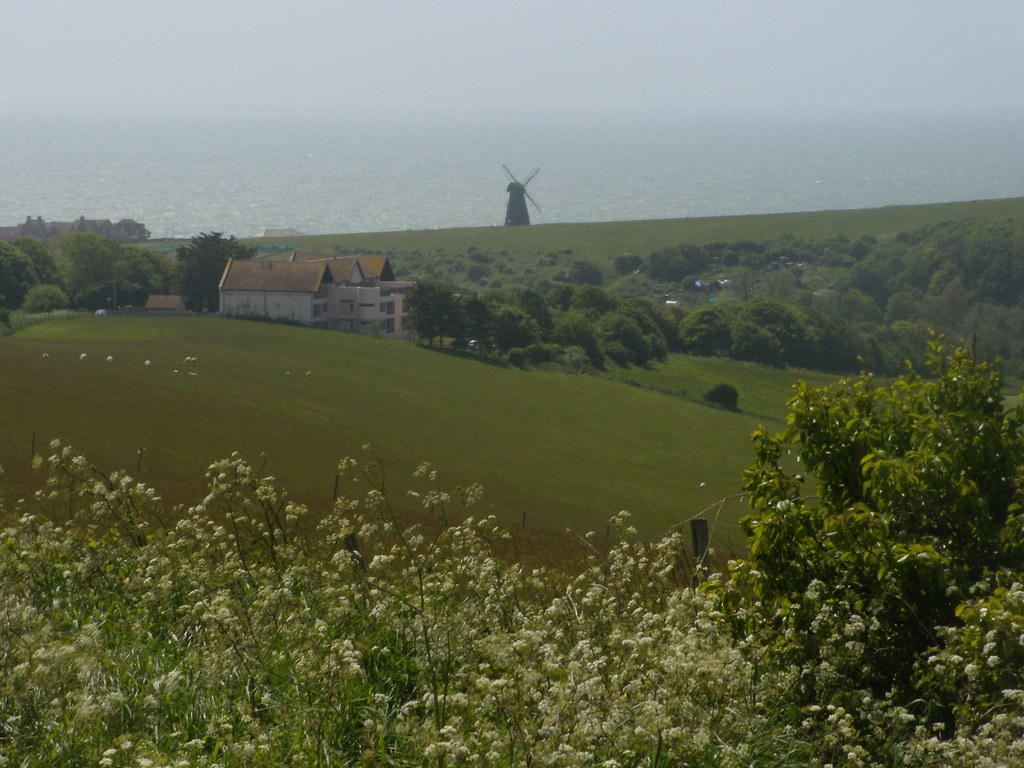 Rottingdean windmill Southease to Rottingdean