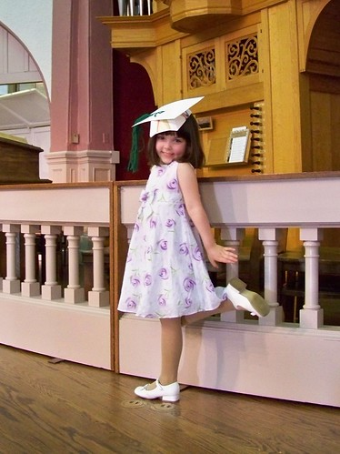 Julia, the preschool graduate