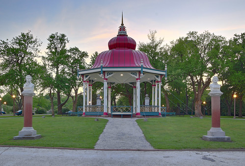 Tower Grove Park, in Saint Louis, Missouri, USA - Music Bandstand 2