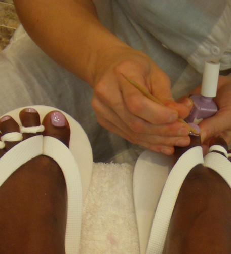 My Pretty Pink Pedicure