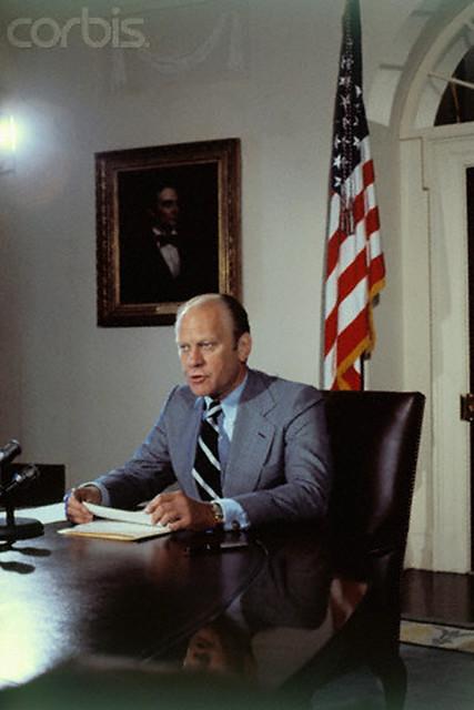 16 Aug 1974, Washington DC - President Gerald Ford