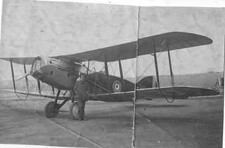 RAF Crail, Scotland 1919. Bristol Fighter