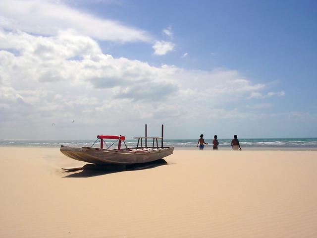 Boat Resting - Jericoacoara, Brazil