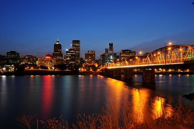 Downtown Portland Skyline | Flickr - Photo Sharing!