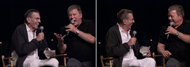 2. Nimoy and Shatner
