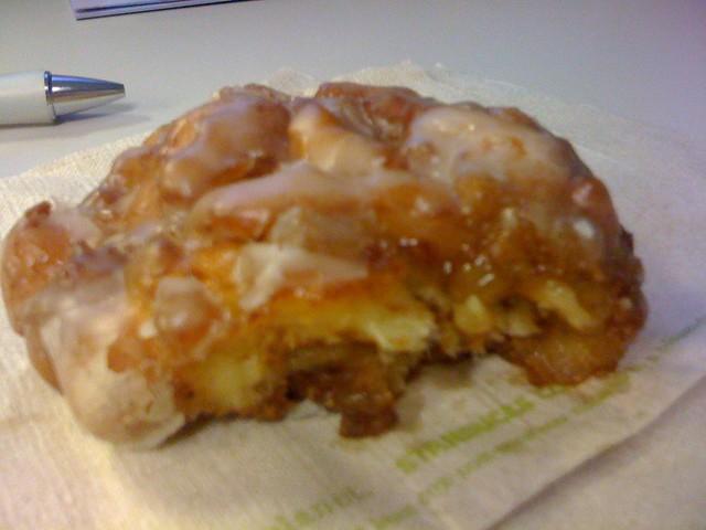 Apple fritter from Starbucks | The apple fritter from ...