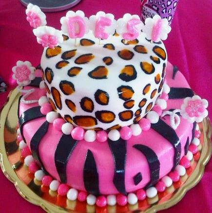TORTA ANIMAL PRINT-CEBRA | Flickr - Photo Sharing!