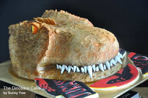 The Dinasour Cake by Sunny Yaw 2