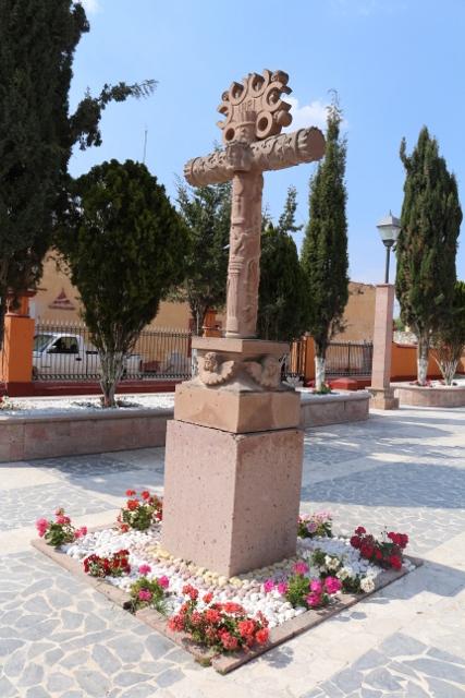 Iglesias de Vizarrón, Qro. Marmol y vitrales